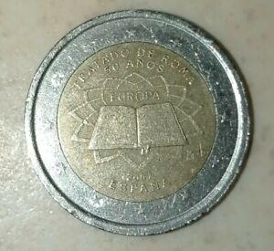 Pièce 2 Euros Commémo. FRANCE 2007 - Traité de Rome Neuve UNC