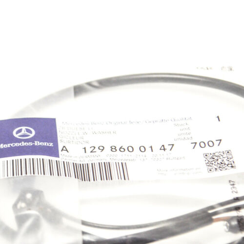 MB SL R129 Front Left Windshield Washer Spray Nozzle A12986001477007 NEW GENUINE