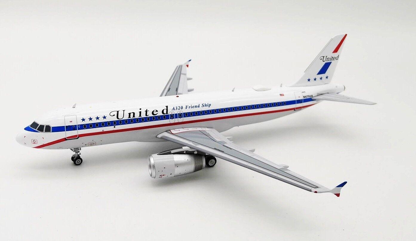 If322ua008 1 200 United Airlines Airbus A320-200 N475ua A320 Freund Versand W