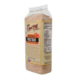 Details about Bob's Red Mill-Wheat Bran (12-8 oz bags)
