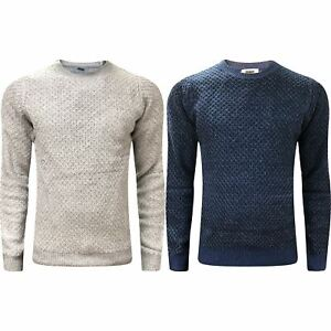 Pullover & Strick Niedrigerer Preis Mit New Mens M&s Weave Textured Crew & V Neck Cable Knitted Jumper Pullover Sweater Hochglanzpoliert