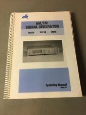 Ifr 2023a 2023b 2025 Amfm Signal Generator Operating Manual