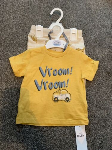 Marks And Spencer's Baby Boys Outfit 2 Piece Set  Age 12 18  Months M /& S BNWT