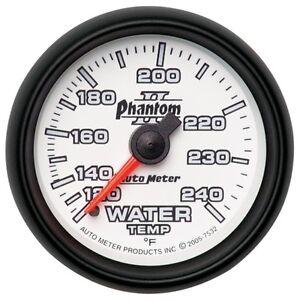 Auto Meter 6131 Cobalt Mechanical Water Temperature Gauge