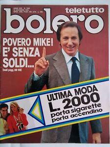 Bolero 1545 Colli Onassis Maggi Bongiorno Agnelli Gheddafi Montesano Moltrasio