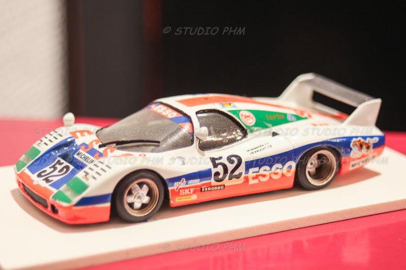 Peugeot wm p79 nº 52 wm esso 24h du mans 79 very rar amr 1 43 no weird spark
