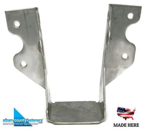 QTY 10 316 Stainless Steel Joist Hangers JUS28 LUS28 Deck Framing 2 x 8 Single