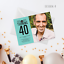 Personalised Adult Birthday Invitation /& Thank You Card with Photo Simple Design