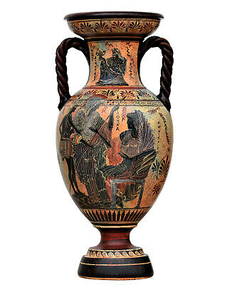 Amphora Vase Goddess Diana Artemis /& Athena Ancient Greek Pottery Ceramic **Free Shipping and Free Tracking Number**
