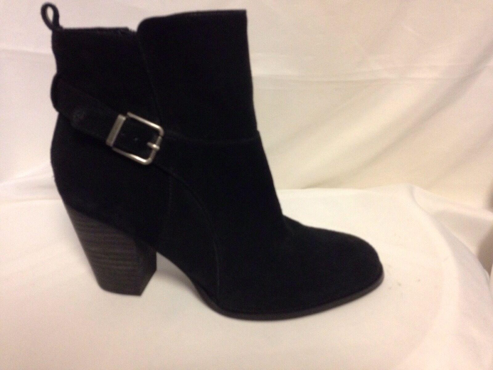 Top botines zapatos cuero señora zapatos de cuero zapatos con cordones botas 0423 azul oscuro 37 07343b