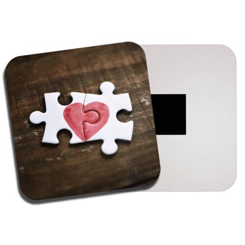 Jigsaw Puzzle Amor Corazón FRIDGE MAGNET-Esposa Novia día de San Valentín Regalo #8772