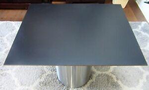 HPL-Platte Tischplatte 8 mm Black 800x641 mm Max Exterior Unidekor NT  U 0080B1
