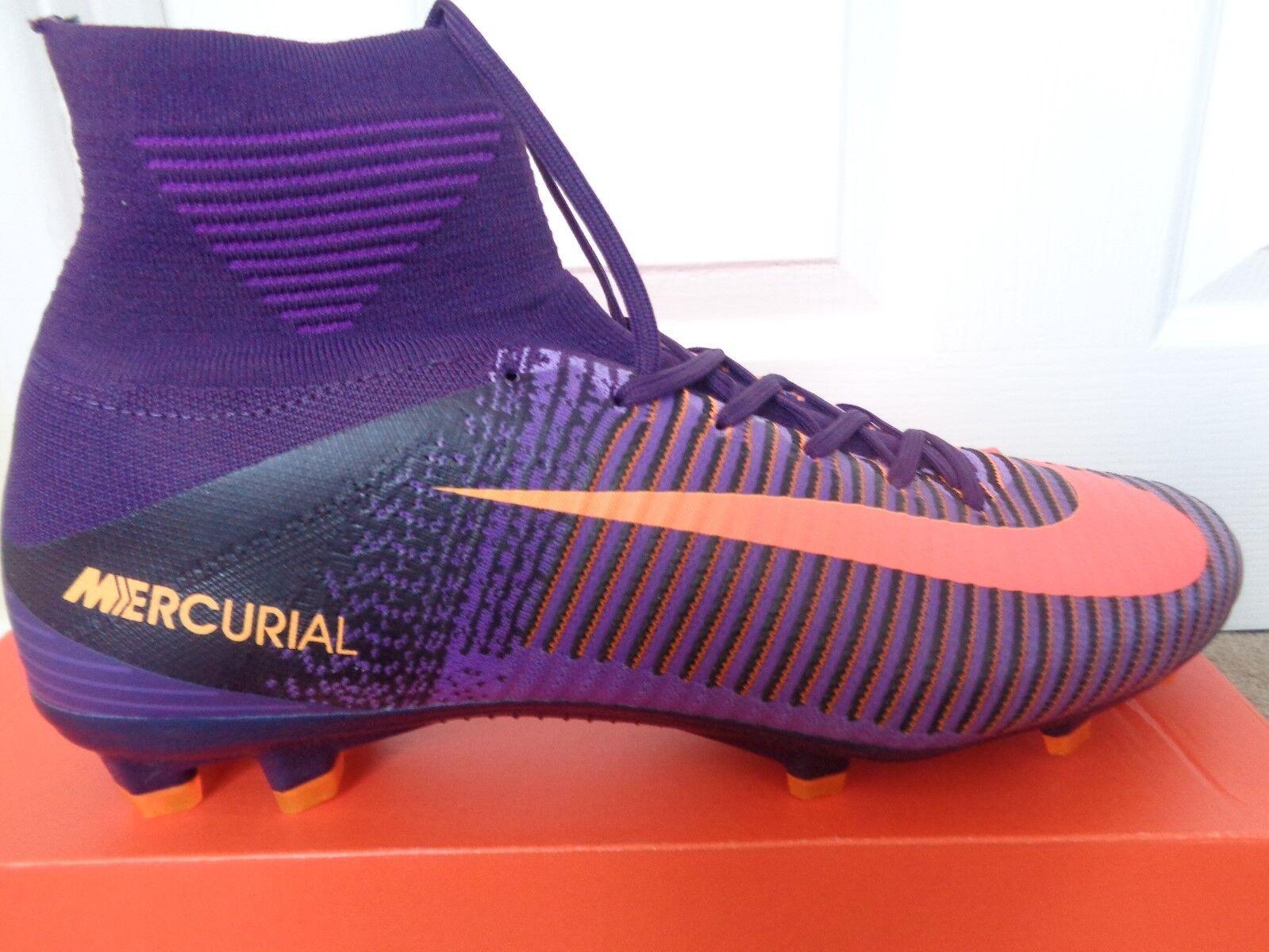 Nike Mercurial Superfly V FG botas de fútbol 831940 570 9 EU 44 nos 10 Nuevo + Caja
