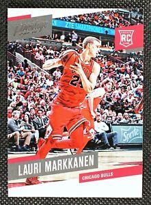 LAURI MARKKANEN - 2018 Panini Prestige RC Rookie Chicago Bulls #157