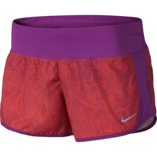 more photos 83669 7b0c5 NWT Nike Dri-FIT Canopy Crew Womens Running Short Cosmic Purple 719887-556   40