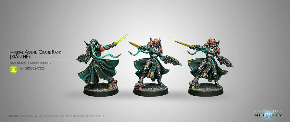 COR280352 Infinity Yu Jing Imperial Agent Crane Rank