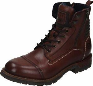 Bugatti-Stiefel-Boots-Leder-Schuhe-braun-321-61133-1200-6000-40-46-Neu18