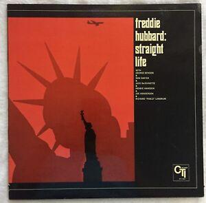 Freddie-Hubbard-LP-Straight-Life-1971-CTI-6007-VG-Vinyl-Van-Gelder-Gatefold