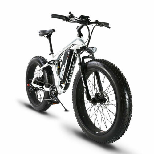 26/'/' Electric Bike E-bike Mountain Bicycles  7 Speed 48V13A1000W USB Powered