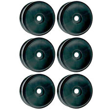 OFNA Racing 1/8 Scale R/C Black Dish Wheel for 17mm Hex - Package of Six, 86042