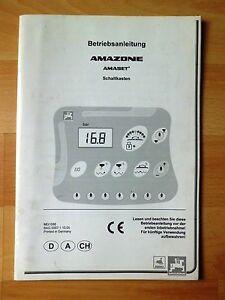 Amazone-Amaset-Schaltkasten-Betriebsanleitung