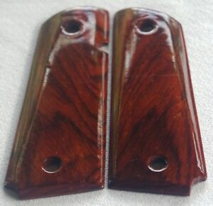 1911 FULL SIZE GRIPS COCOBOLO COLT, ED BROWN, SMITH & WESSON, PARA Kimber S-7