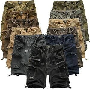 Geographical-Norway-Cargo-Shorts-kurze-Hose-Bermuda-Cargohose-Short-People