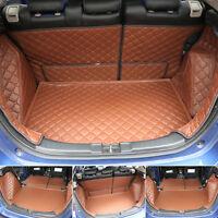 Car Trunk Boot Liner Carpet Mats Full Cover For Honda Fit 2014-2016 Waterproof