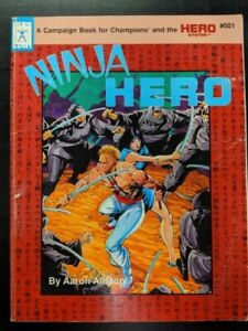1x-Hero-Games-Ninja-Hero-Used-Damaged-RPG-Other