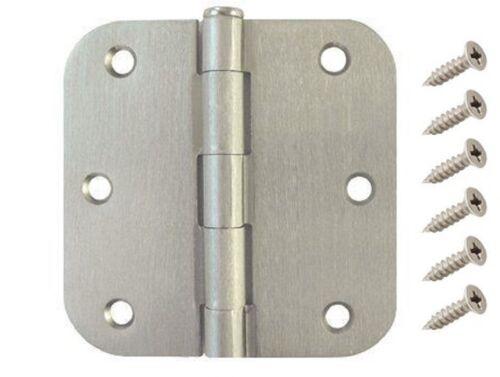 "40 Pack 3.5/"" Satin Nickel Interior Door Hinges with 5//8/"" Radius DH3558 Hinge"