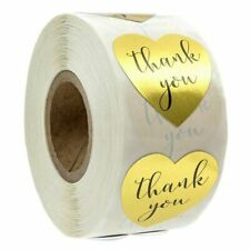 1 Inch Round Gold Foil Thank You For Your Purchase Stickers 500 Labels Per 5J2