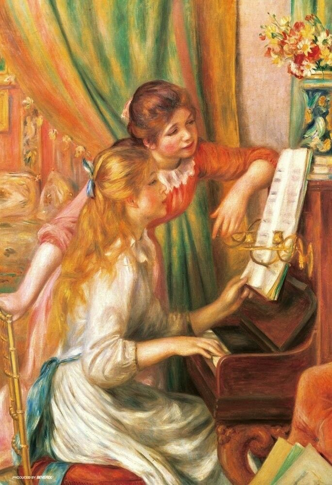 Beverly 300-piece jigsaw puzzle girls playing the piano 26x38cm