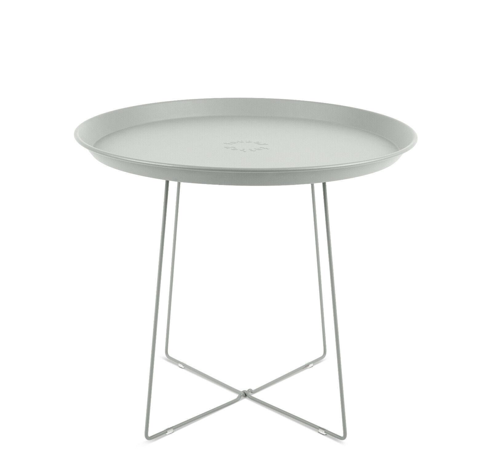 Fatboy plat-o mesa auxiliar y Tablet gris claro d 56 cm h 46 cm en-y Outdoor