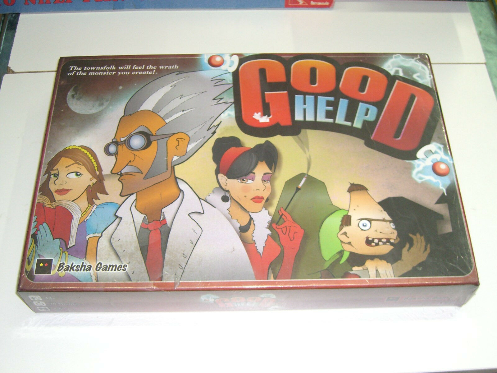 GOOD HELP BOARD GAME BAKSHA GAMES MINT MIB SEALED