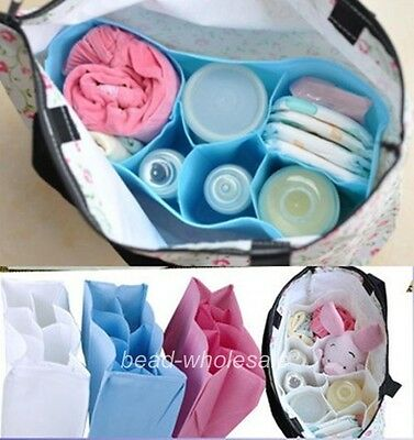 Baby Diaper Nappy Storage Outdoor Travel Bag Tote Organizer Liner convenient