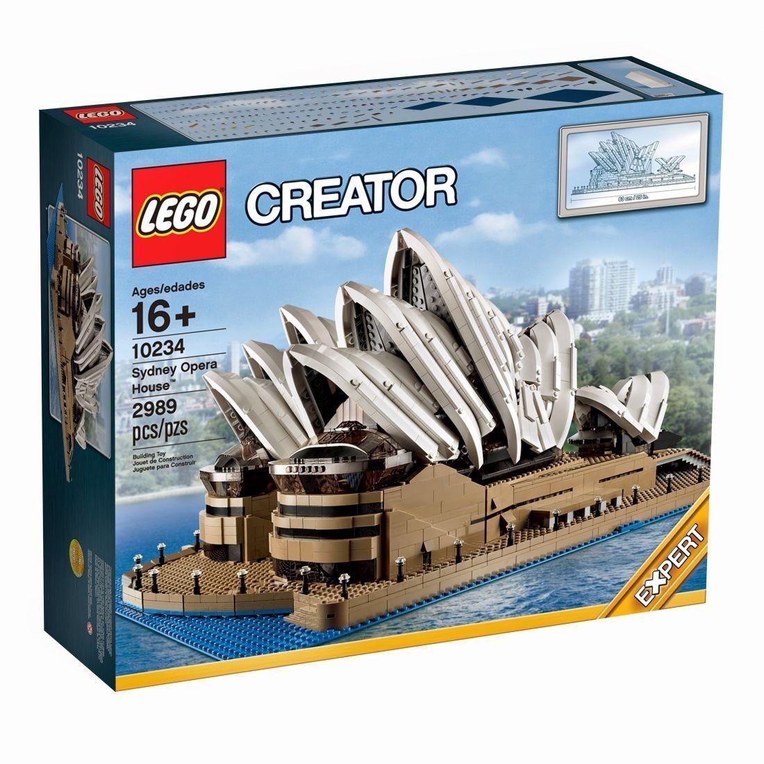 LEGO Creator Sydney Opera House House House (10234) NEW SEALED Global Shipping 22089f