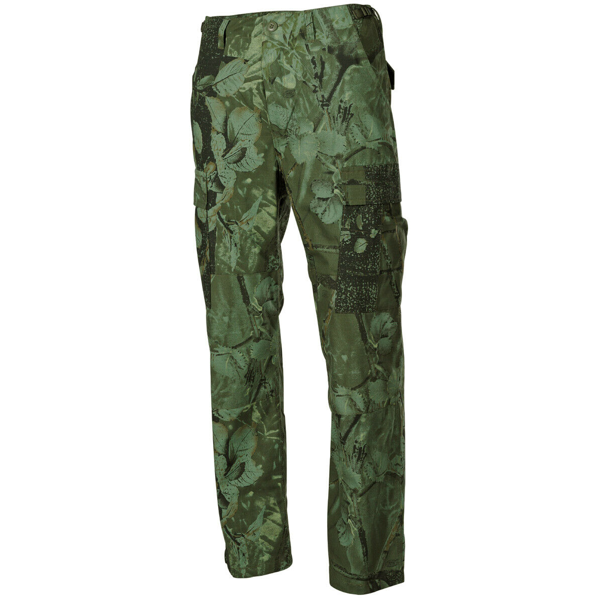Hunters Mens Combat Trousers Hunting Pants Army Real Tree Green Camo   W27-W51
