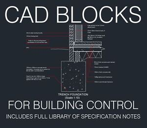 Details about Typical CAD Details for Building Control, Building  Regulations, Planning Apps