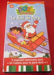 VHS-French-Movie-Le-Noel-de-Dora-Dora-L-039-exploratrice
