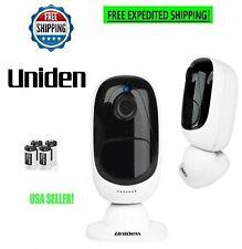 Uniden ACS1SGL 1080p Wi-fi APPCAM Solo Wireless Security Camera - White