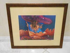 Linda Pirri Retired Dream Catcher 16x20 Print Framed Ebay