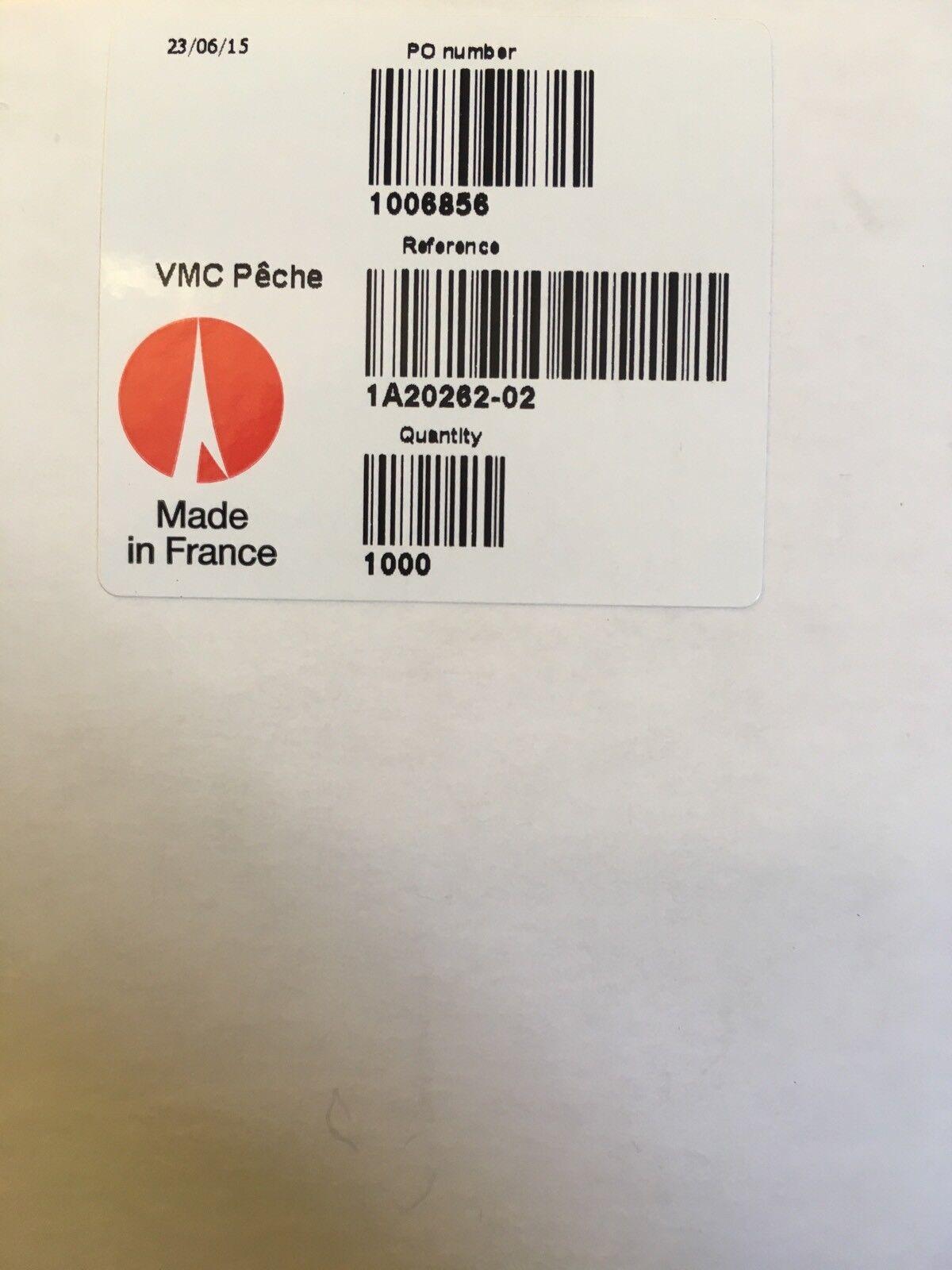 1000 Box XCALIBUR Tx3 ROTATING TREBLE  2 TREBLE ROTATING HOOKS BRONZE VMC CRANKBAIT c39529