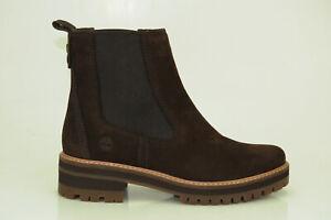 Timberland-Courmayeur-Valley-6-Inch-Chelsea-Boots-Damen-Stiefel-Schuhe-A23WU