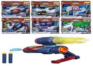 Los-Vengadores-Tacho-Nerf-ensamblador-Gear-5-Juguete-Ronin-Capitan-America-Iron-Spider