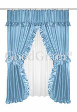 Dobby Design Double Swag Shower Curtain Sets