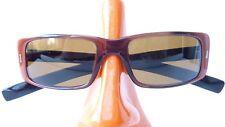 Sonnenbrille leicht Damen Rodenstock ocker braun lunettes de soleil gerade Form