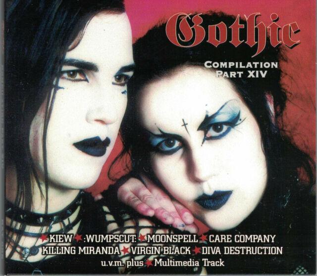 Gothic Compilation Part 14 von Various Artists  Digi CD  Neu not sealed Gothrock