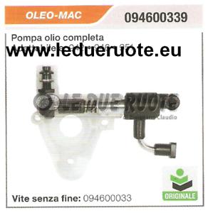 094600339 Pumpe Öl Komplett Kettensäge OLEO MAC 942 946 951 HQ Original