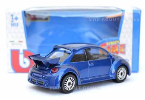 VW BEETLE NEW RSI 1:43 Model Diecast Toy Car Miniature Cars Volkswagen Blue
