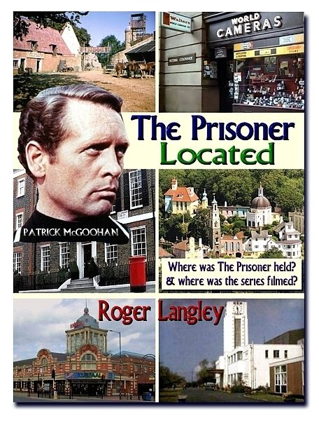 PRISONER MCGOOHAN PORTMEIRION - THE PRISONER LOCATED BOOK